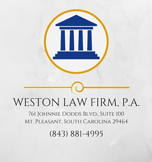 Weston LawFirm placard logo